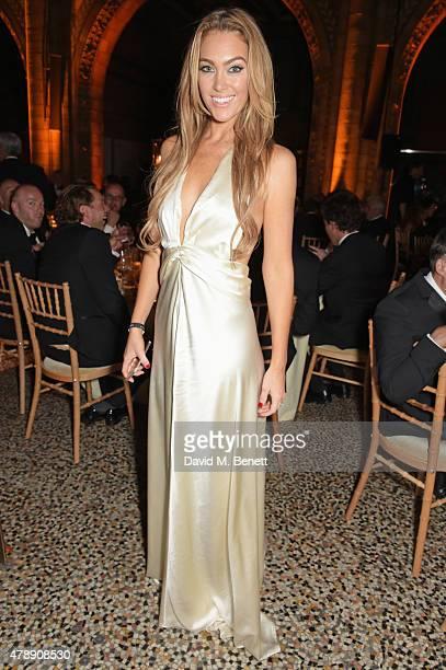 Cassandra Harris attends the 2015 FIA Formula E Visa London ePrix Gala Dinner at the Natural History Museum on June 28, 2015 in London, England.