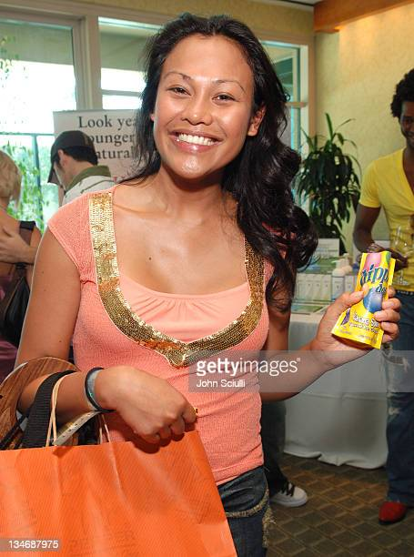 Cassandra Hepburn at dippin' dots during Melanie Segal's Platinum Luxury Gifting Suite in Celebration of the 58th Annual Emmys and the 2006 MTV VMAs...