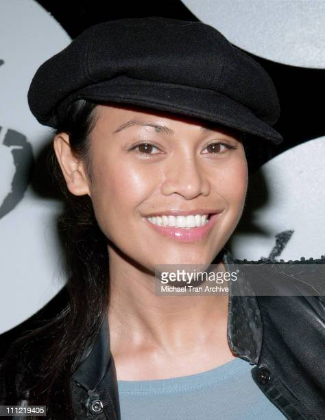 Cassandra Hepburn during MercedesBenz Fall 2006 LA Fashion Week at Smashbox Studios Uriel Saenz After Party at Spider Club in Hollywood California...