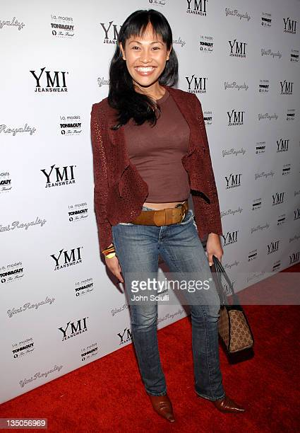 Cassandra Hepburn during YMI Jeans Fashion Show and Party in Los Angeles California United States