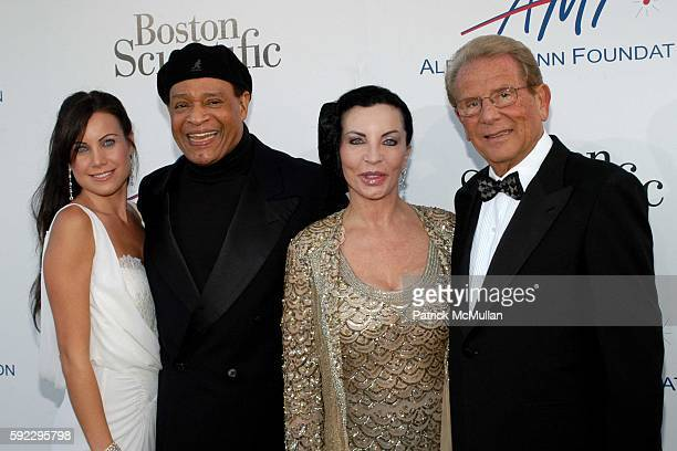 Cassandra Mann Al Jarreau and Alfred Mann attend The Alfred Mann Foundation's 2nd Annual 'Evening of Innovation Inspiration' Honoring Larry King...