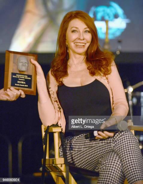 Cassandra Petersen attends Day 1 of Monsterpalooza held at Pasadena Convention Center on April 14 2018 in Pasadena California