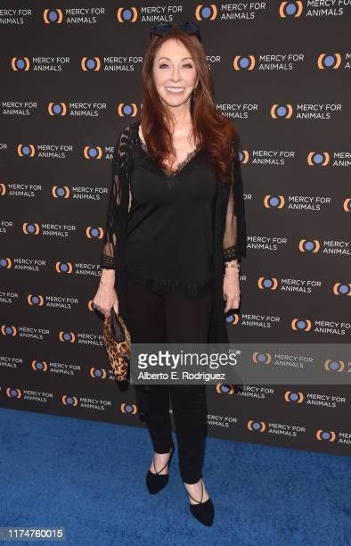 Cassandra Peterseon attends the Mercy For Animals 20th Anniversary Gala at The Shrine Auditorium on September 14 2019 in Los Angeles California