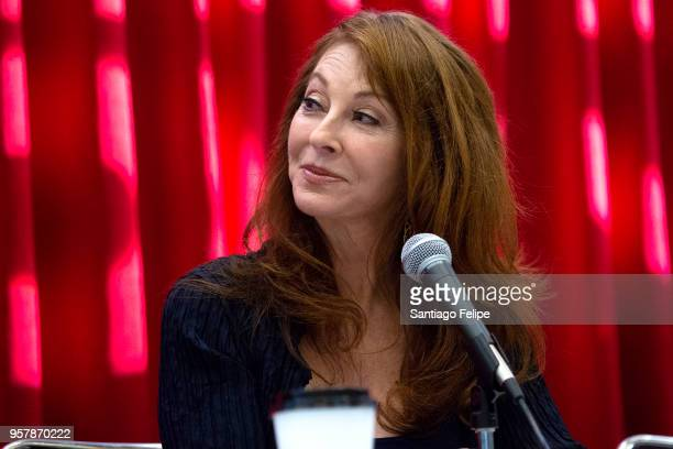 Cassandra Peterson attends the 4th Annual RuPaul's DragCon at Los Angeles Convention Center on May 12 2018 in Los Angeles California