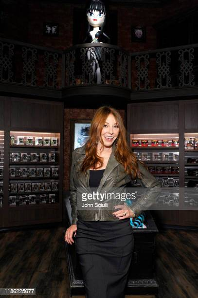 Cassandra Peterson attends the Funko Hollywood VIP Preview Event at Funko Hollywood on November 07 2019 in Hollywood California