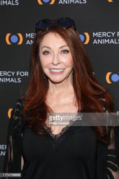 Cassandra Peterson attends the Mercy For Animals 20th Anniversary Gala at The Shrine Auditorium on September 14 2019 in Los Angeles California