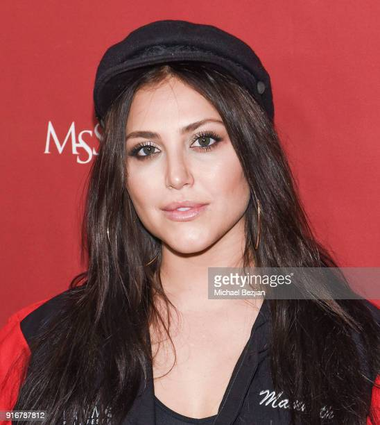 Cassandra Scerbo arrives at The Inaugural Mammoth Film Festival on February 10 2018 in Mammoth Lakes California