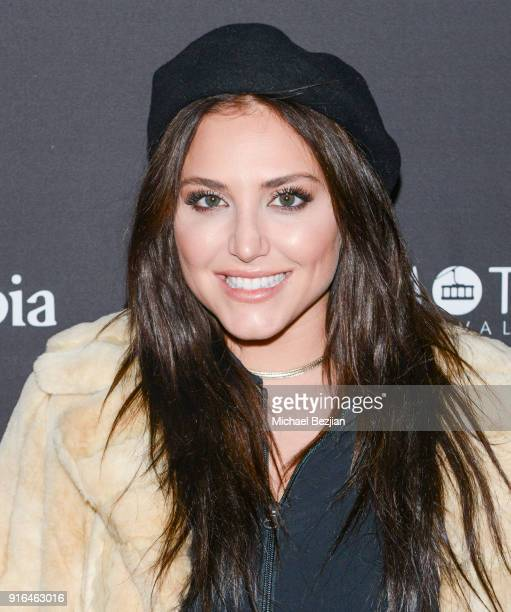 Cassandra Scerbo arrives at the premiere of Truth or Dare at Inaugural Mammoth Film Festival Day 2 on Feburary 9 2018 in Mammoth Lakes California