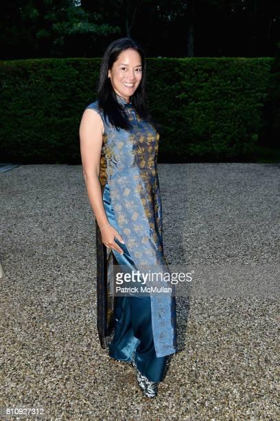 Cassandra Seidenfeld attends Katrina and Don Peebles Host NY Mission Society Summer Cocktails at Private Residence on July 7 2017 in Bridgehampton...