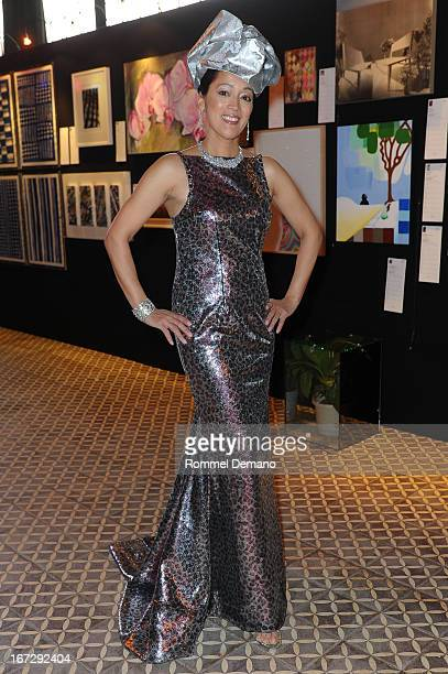 Cassandra Seidenfeld attends the 22nd annual Artists for Africa benefit at The Bowery Hotel on April 23 2013 in New York City