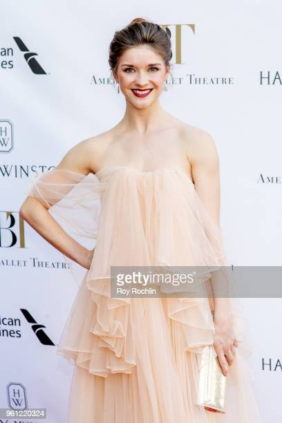 Cassandra Trenary attends the 2018 American Ballet Theatre Spring Gala at The Metropolitan Opera House on May 21 2018 in New York City