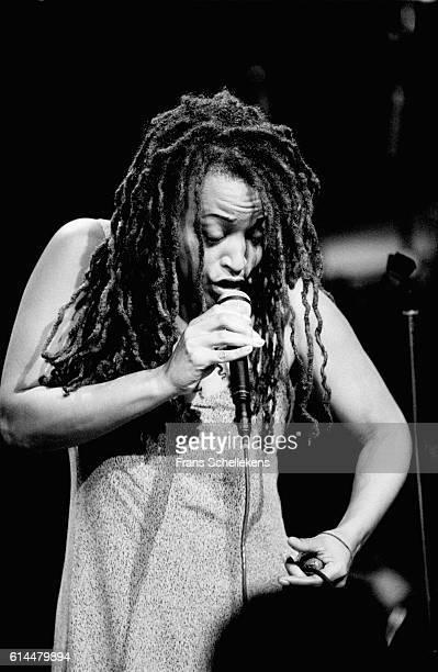 Cassandra Wilson, vocal, performs on November 14th 1994 at Vredenburg in Utrecht, Netherlands