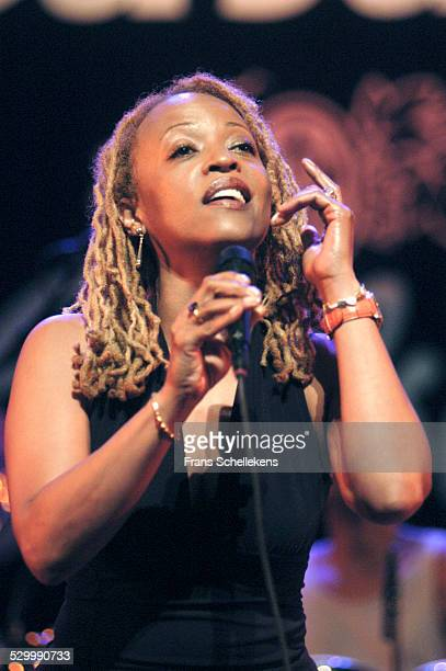 Cassandra Wilson, vocals, performs at the North Sea Jazz Festival on July 12th 2003 in Amsterdam, Netherlands.
