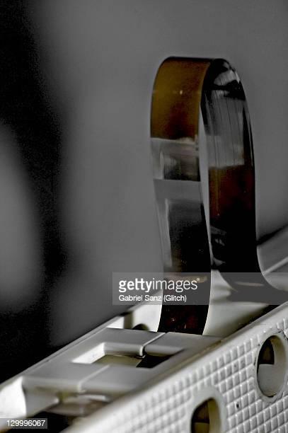 cassette - opslagmedia voor analoge audio stockfoto's en -beelden