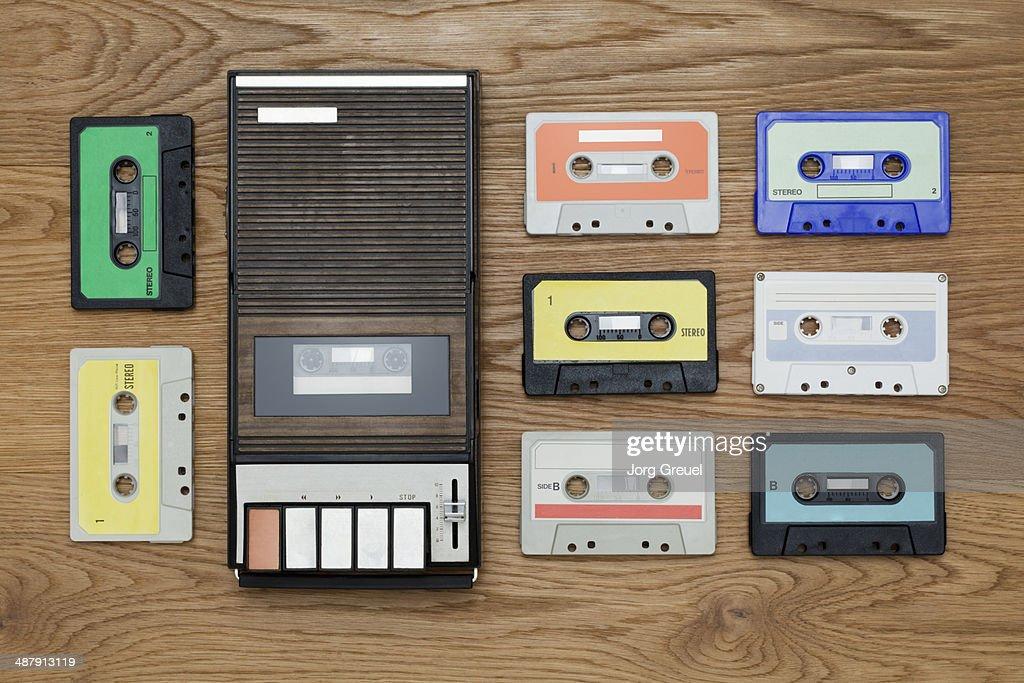 Cassette player : Stock Photo