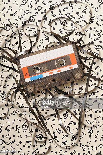 cassette tape, music - opslagmedia voor analoge audio stockfoto's en -beelden