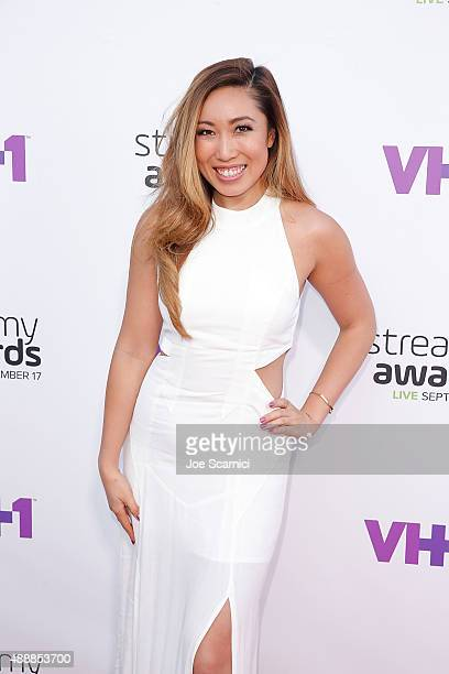 Cassey Ho attends VH1's 5th Annual Streamy Awards at Hollywood Palladium on September 17, 2015 in Los Angeles, California.
