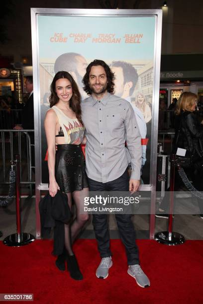 Cassi Colvin and Chris D'Elia attend the premiere of Warner Bros Pictures' 'Fist Fight' at Regency Village Theatre on February 13 2017 in Westwood...