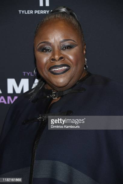 Cassi Davis attends a screening for Tyler Perry's A Madea Family Funeral at SVA Theater on February 25 2019 in New York City