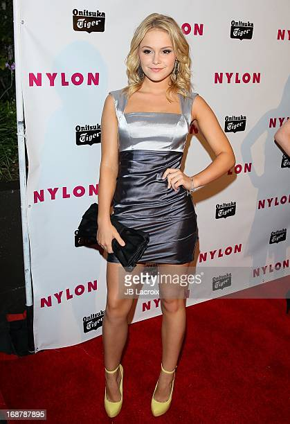 Cassi Thompson attends the NYLON Magazine Annual May Young Hollywood Issue Party at The Roosevelt Hotel on May 14 2013 in Hollywood California