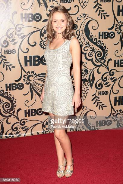 Cassi Thomson attends HBO EMMY After Party at Pacific Design Center on September 20 2009 in West Hollywood California