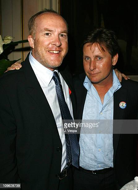 """Cassian Elwes and Emilio Estevez, director during The 63rd International Venice Film Festival - """"Bobby"""" After Party at Luna Hotel Baglioni in Venice,..."""