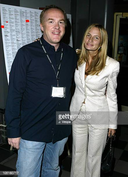 """Cassian Elwes and Holly Wiersma during 2003 Toronto International Film Festival - """"Wonderland"""" Premiere at Uptown Theater in Toronto, Ontario, Canada."""