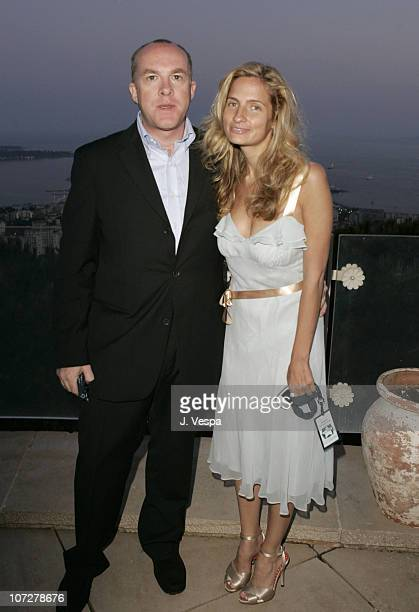 Cassian Elwes and Holly Wiersma during 2004 Cannes Film Festival - Palisades Pictures and Movieline Hollywood Life Party at Private Residence in...