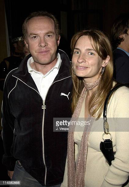 Cassian Elwes and Holly Wiersma during Lara and Lara's Old Hollywood Bash Hosted by Ciroc Vodka at The Talmadge Estate in Los Feliz, California,...