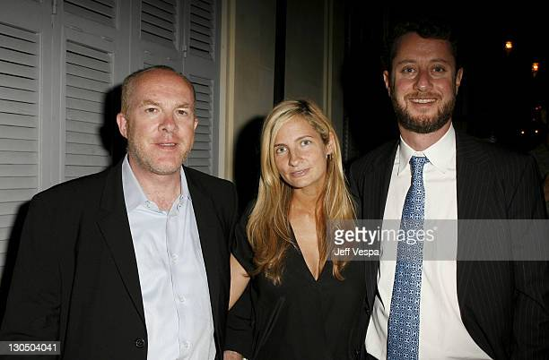 """Cassian Elwes, Holly Wiersma and Guy Stodel during 2007 Cannes Film Festival - New Line 40th Anniversary """"Golden Compass"""" Party in Cannes, France."""