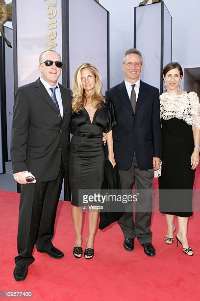 """Cassian Elwes, Holly Wiersma and Rena Ronson during 2004 Venice Film Festival - """"A Love Song For Bobby Long"""" - Premiere at Palazzo Del Cinema in..."""