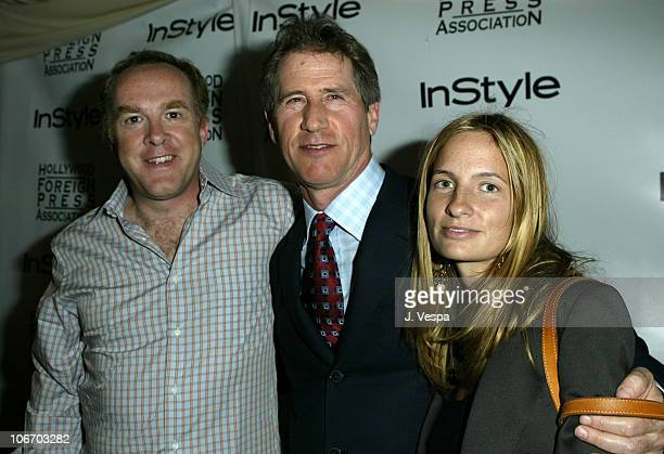 Cassian Elwes, Jon Feltheimer and Holly Wiersma during 2003 Toronto International Film Festival - InStyle - Hollywood Foreign Press Association Party...