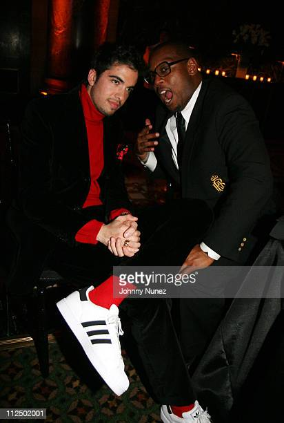 DJ Cassidy and Andre Harrell during Dee Ocleppo Celebrates Her Birthday Hosted by Tommy Hilfiger at Cipriano's 42nd Street in New York New York...