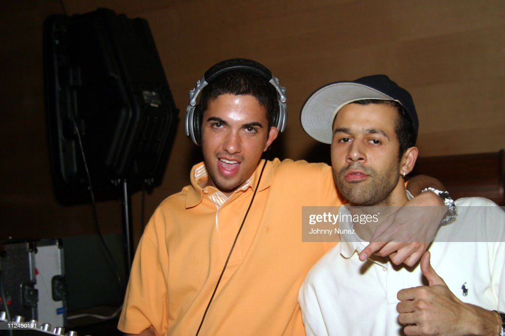 DJ Cassidy and DJ Jus Ske during Butter's Two Year Anniversary at Butter in New York City, New York, United States.