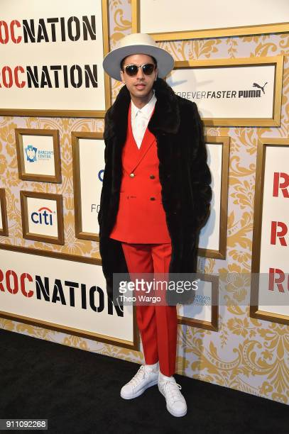 Cassidy attends Roc Nation THE BRUNCH at One World Observatory on January 27 2018 in New York City