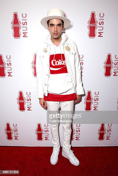Cassidy attends the 2015 American Music Awards Pre Party with CocaCola at the Conga Room on November 20 2015 in Los Angeles California