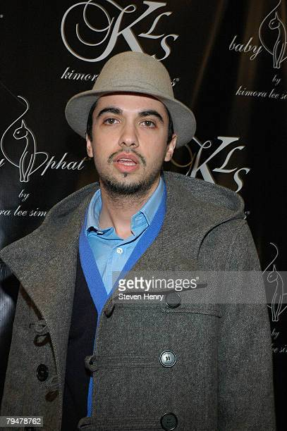 Cassidy attends the Baby Phat Fall 2008 after party at Suzie Wong February 1 2008 in New York City