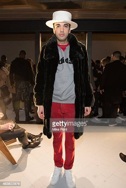 Cassidy attends the Rob Garcia Presentation during Mercedes-Benz Fashion Week Fall 2015 on February 18, 2015 in New York City.