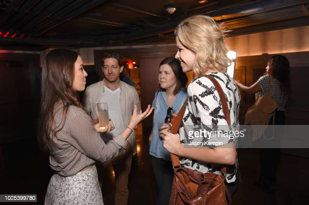 Cassidy Cole Chris Cole Anne Fogerty and Libby Oellerich attend the Nashville Filmmakers Guild ReLaunch Party at Analog at Hutton Hotel on August 29...