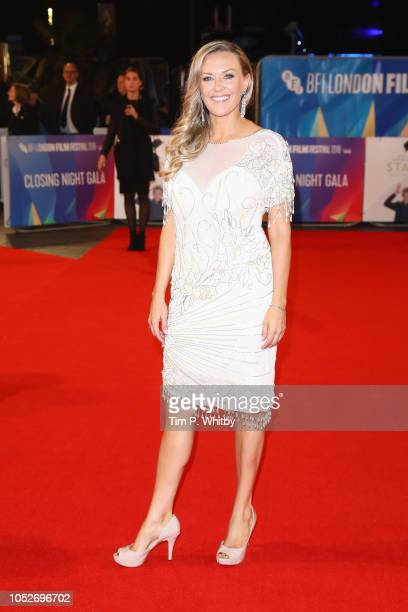 Cassidy Cook attends the World Premiere of 'Stan Ollie' and closing night gala of the 62nd BFI London Film Festival on October 21 2018 in London...