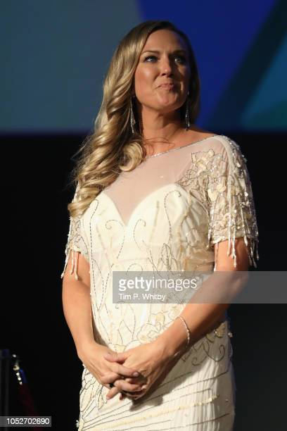Cassidy Cook attends the World Premiere of Stan Ollie and closing night gala of the 62nd BFI London Film Festival on October 21 2018 in London England