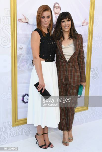 Cassidy Freeman and Edi Patterson attend the Los Angeles Premiere Of New HBO Series The Righteous Gemstones at Paramount Studios on July 25 2019 in...