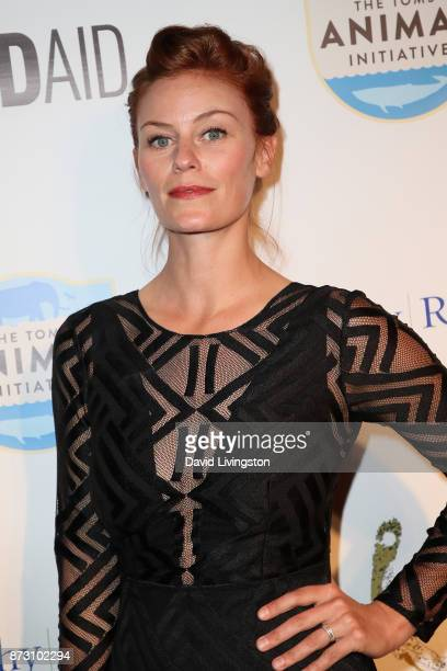 Cassidy Freeman arrives at the Evening with WildAid at the Beverly Wilshire Four Seasons Hotel on November 11 2017 in Beverly Hills California