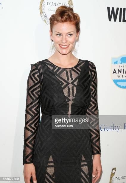 Cassidy Freeman arrives at the WildAid event held at the Beverly Wilshire Four Seasons Hotel on November 11 2017 in Beverly Hills California