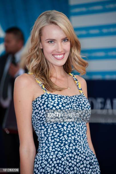 Cassidy Gard arrives at the 'Lawless' Premiere during the 38th Deauville American Film Festival on September 5 2012 in Deauville France