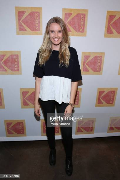 Cassidy Gard attends the Kodak Motion Picture Awards Season Celebration on March 1 2018 in Los Angeles California