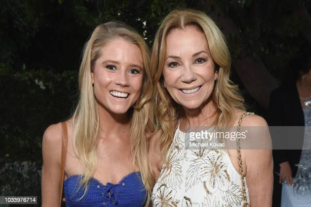 Cassidy Gifford and Kathie Lee Gifford arrives at The COTA Awards on September 15 2018 in Malibu California