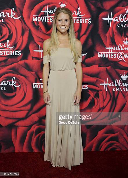 Cassidy Gifford arrives at Hallmark Channel And Hallmark Movies And Mysteries Winter 2017 TCA Press Tour at The Tournament House on January 14 2017...