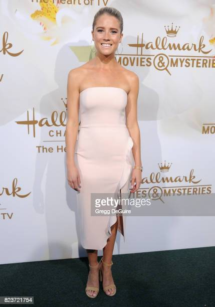 Cassidy Gifford arrives at the 2017 Summer TCA Tour Hallmark Channel And Hallmark Movies And Mysteries at a private residence on July 27 2017 in...