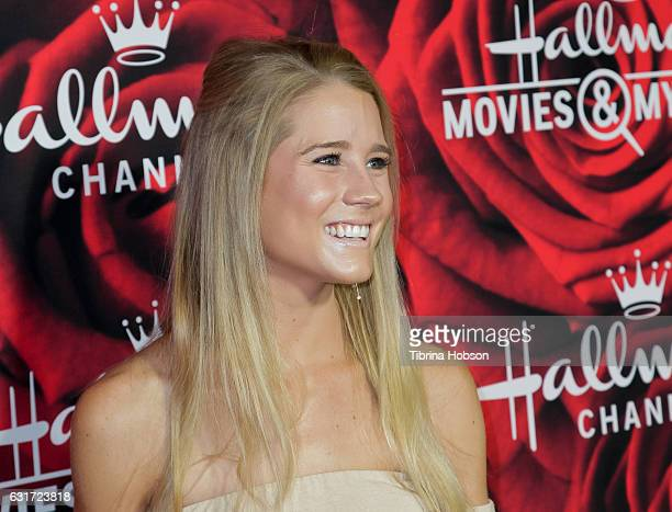Cassidy Gifford attends Hallmark Channel Movies and Mysteries Winter 2017 TCA Press Tour at The Tournament House on January 14 2017 in Pasadena...